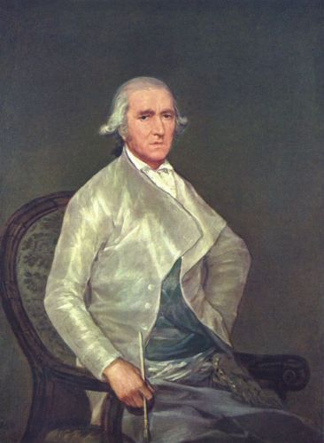 Portrait of Francisco Bayeu by Francisco Goya