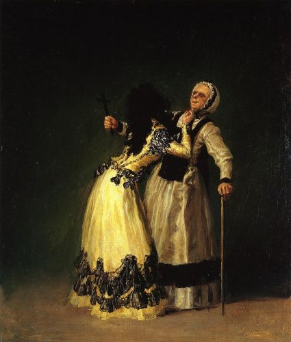 The Duchess of Alba and Her Duenna by Francisco Goya