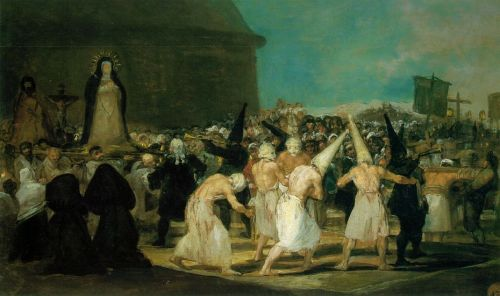 The Procession by Francisco Goya