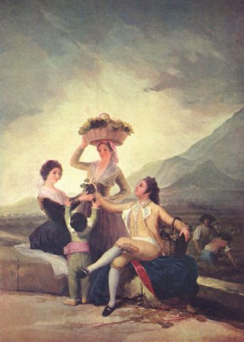 The Vintage by Francisco Goya