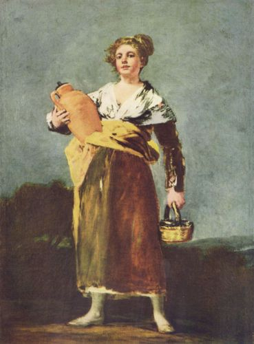 Water Carrier by Francisco Goya
