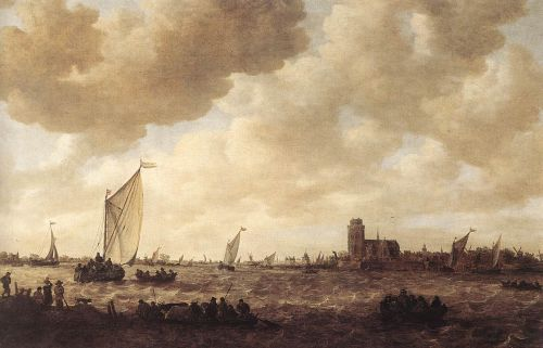 View of Dordrecht by Jan van Goyen