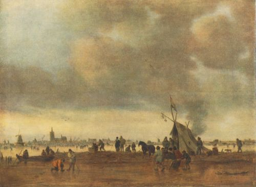 Winter by Jan van Goyen