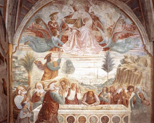 Assumption of the Virgin by Benozzo Gozzoli