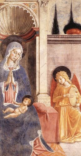 Madonna and Child by Benozzo Gozzoli