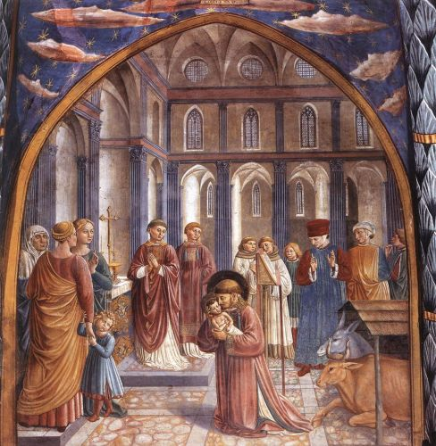 Scenes from the Life of St Francis by Benozzo Gozzoli