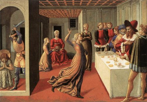 The Dance of Salome by Benozzo Gozzoli