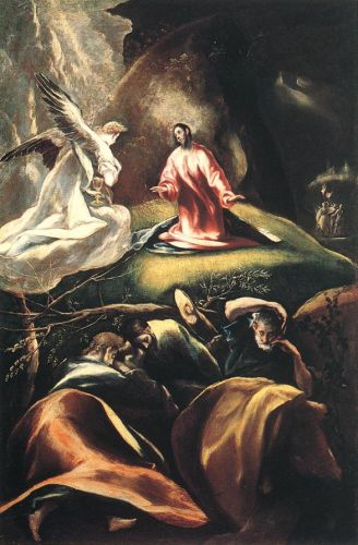 Agony in the Garden by El Greco
