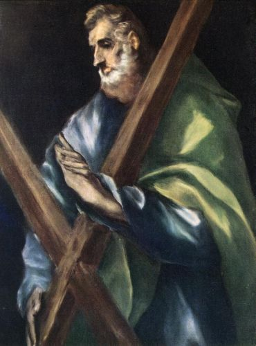 Apostle St Andrew by El Greco