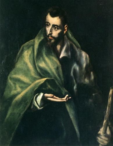 Apostle St James the Greater by El Greco