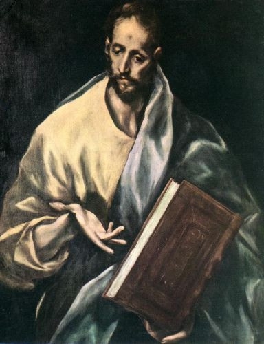 Apostle St James the Less by El Greco