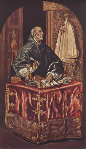 St Ildefonso by El Greco