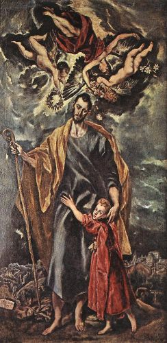 St Joseph and the Christ Child by El Greco