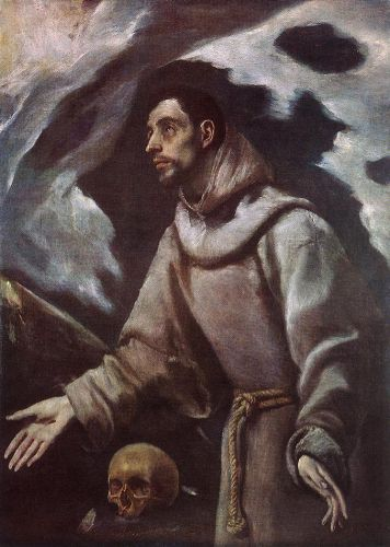 The Ecstasy of St Francis by El Greco