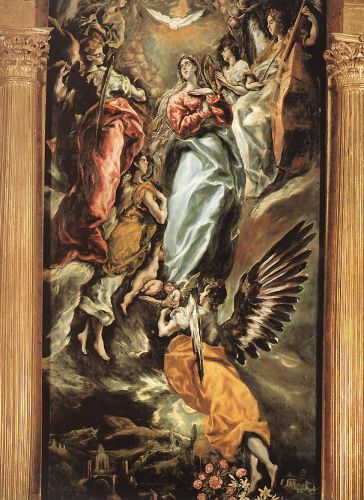 The Immaculate Conception by El Greco