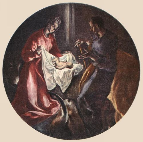 The Nativity by El Greco