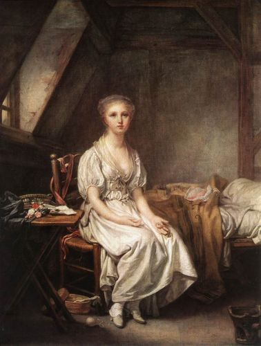 The Complain of the Watch by Jean-Baptiste Greuze