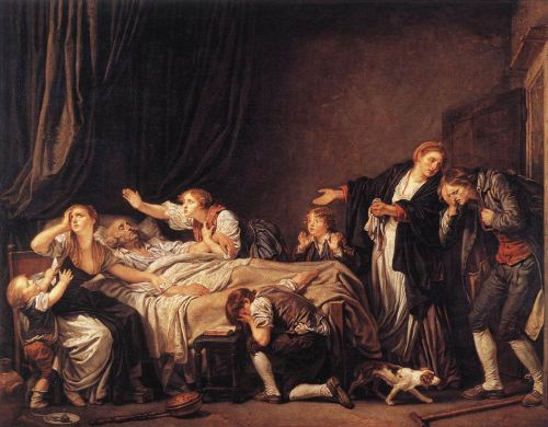 The Punished Son by Jean-Baptiste Greuze
