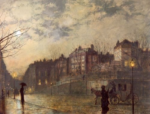 Hampstead by John Atkinson Grimshaw