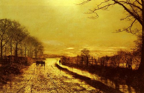 Wharfedale by John Atkinson Grimshaw