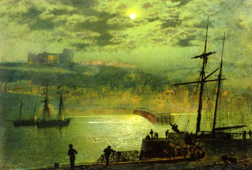 Whitby from Scotch Head by John Atkinson Grimshaw