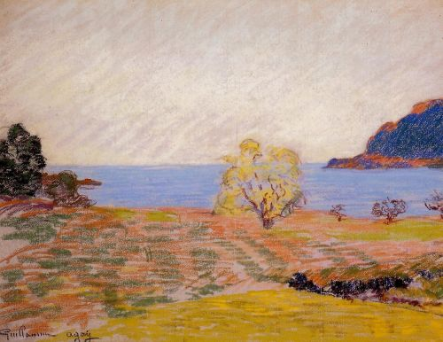 Agay Landscape by Armand Guillaumin