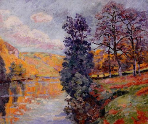 Crozant: Echo Rock by Armand Guillaumin