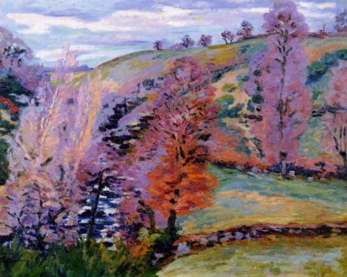 Crozant Landscape by Armand Guillaumin