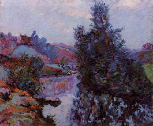 Crozant, the Bouchardon Mill by Armand Guillaumin