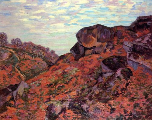 Crozant, the Sedelle Heights, Morning by Armand Guillaumin