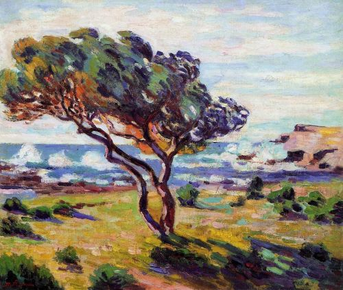 Gust of Wind, le Brusc by Armand Guillaumin