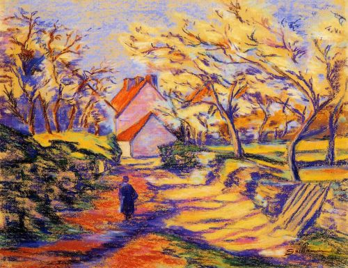 In the Countryside by Armand Guillaumin
