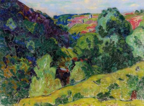 La Creuse Landscape by Armand Guillaumin