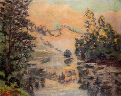 Landscape: La Creuse by Armand Guillaumin