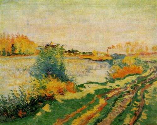 Landscape by Armand Guillaumin