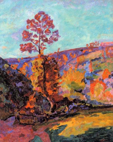 Landscape at Crozant by Armand Guillaumin