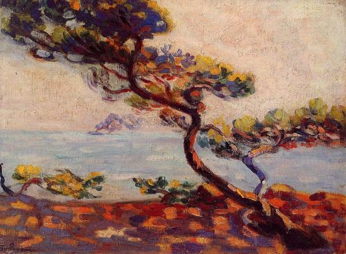 Midday in France by Armand Guillaumin