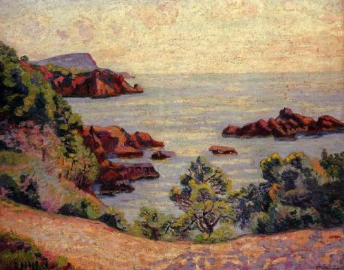 Midday Landscape by Armand Guillaumin