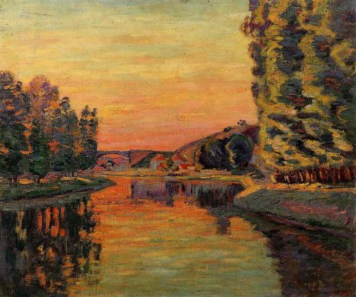 Moret, July by Armand Guillaumin