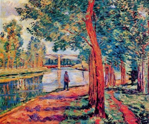 Moret by Armand Guillaumin