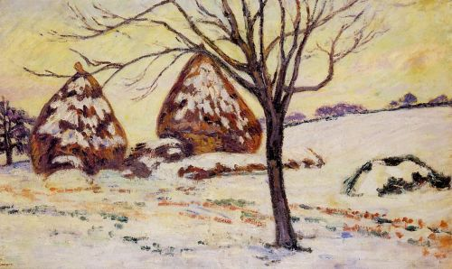 Palaiseau: Snow Effect by Armand Guillaumin