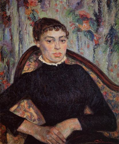 Portrait of a Young Girl by Armand Guillaumin
