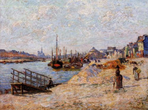 Quai de Bercy by Armand Guillaumin