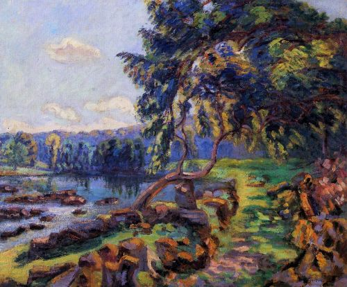 Rapids at Genetin by Armand Guillaumin