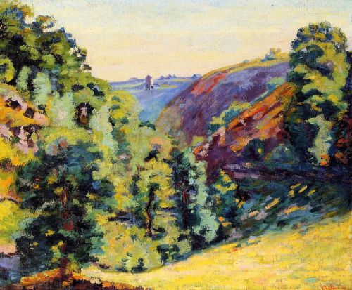 Ravin de la Sadelle a la Follie by Armand Guillaumin