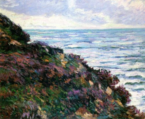 Seascape by Armand Guillaumin