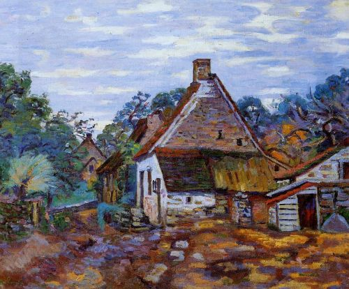 Village by Armand Guillaumin