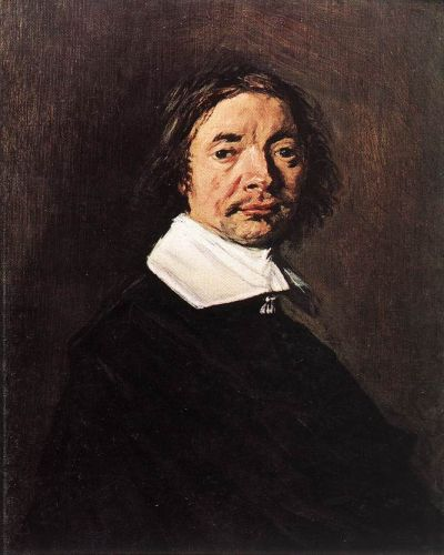 Portrait of a Man by Frans Hals