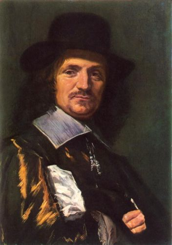 The Painter Jan Asselyn by Frans Hals