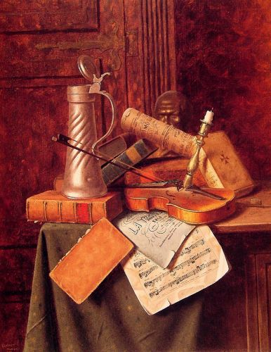Munich Still Life by William Michael Harnett